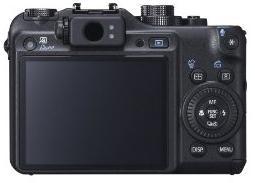 Canon Powershot G10 Back