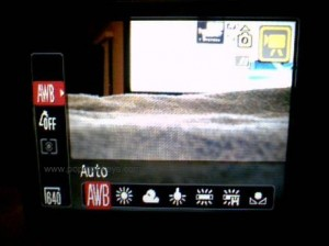 Canon SD880IS Video White Balance