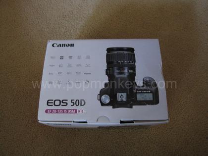 Canon EOS 50D Box